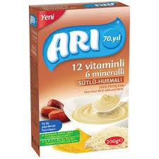 سرلاک آری فرنی برنج همراه خرما Ari
