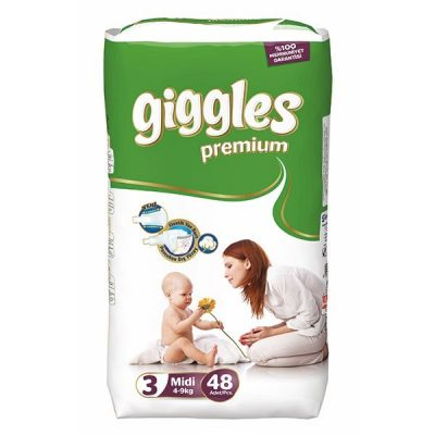 پوشک گیگلز (پرمیوم) سایز giggles۳