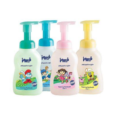 مایع دستشویی فوم فیروز