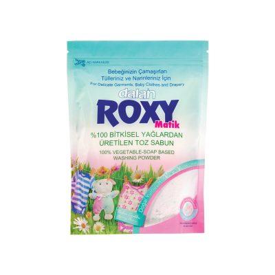 پودر صابون ماشین لباسشویی بچه رکسی Roxy(رایحه گلهای بهاری)800گرم
