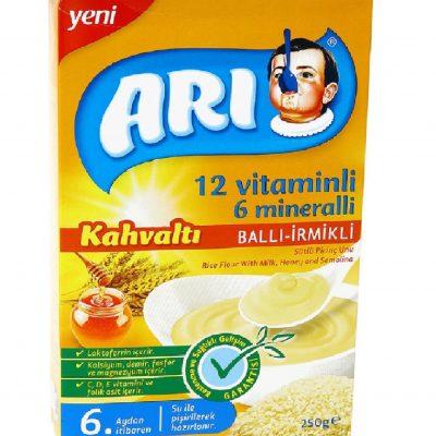 سرلاک آری فرنی برنج همراه عسل Ari