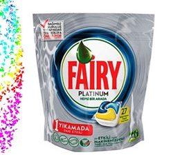 قرص ماشین ظرفشویی ۲۷ عددی فیری fairy