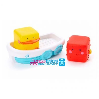 عروسک حمام بی کیدز B kid's مدل Stack N Float Bath Set