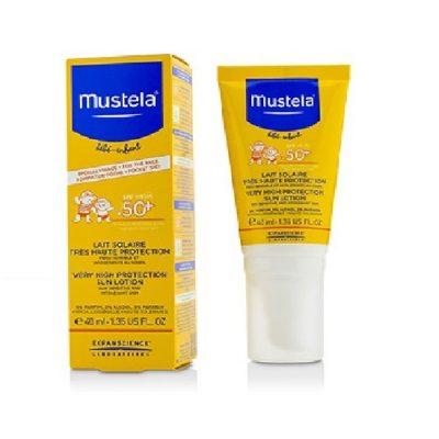 لوسیون ضد آفتاب با قدرت پوشانندگی بسیار بالا موستلا mustela