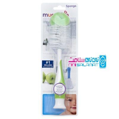 شیشه و سرشیشه شوی مانچکین مدل Bottle and Nipple Brush