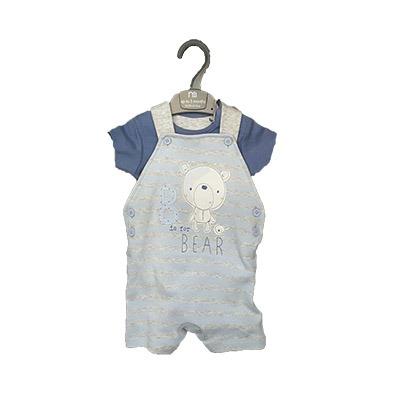 ست پیراهن و شلوار  پیشبندی نوزاد و کودک بالای 3 ماه مادرکر mothercare