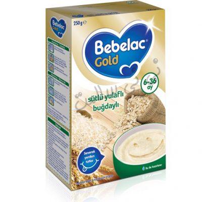 سرلاک فرنی برنج و جو دوسر ببلاک گلد bebelac gold