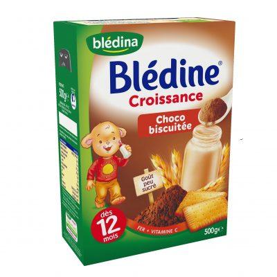 پودر بیسکوییت و کاکائو ۱۲ ماه بلدین bledine