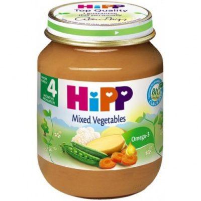 غذای کودک(سوپ سبزیجات) هیپ HiPP