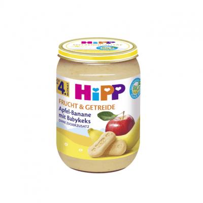 پوره موز سیب بیسکوییت هیپ المانی hipp
