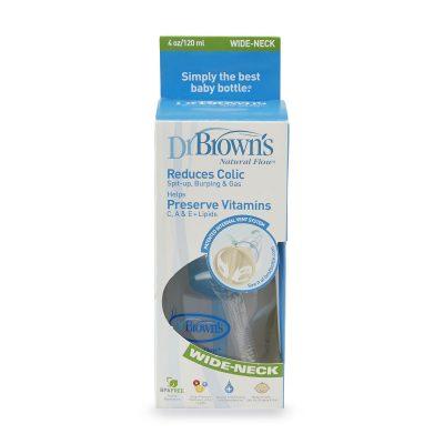 شیشه شیر دکتر براونز 120 میل مدل DR BROWNS 555-GB