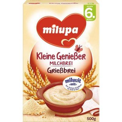 سرلاک فرنی غلات و آرد سمولینا(6ماه) میلوپا milupa
