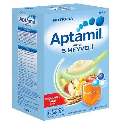 مکمل غذایی پنج میوه آپتامیل aptamil