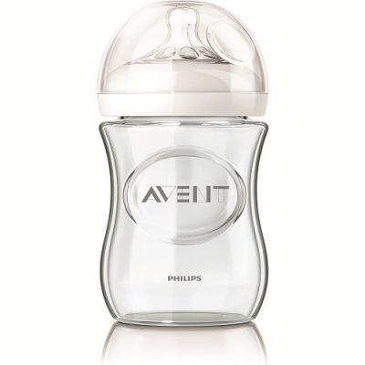شیشه شیر نچرال پیرکس(شیشه ای) 240 میل اونت avent