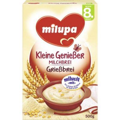 سرلاک فرنی غلات و آرد سمولینا(8ماه) میلوپا milupa