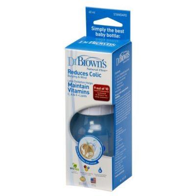شیشه شیر دکتر براونز 60 میل مدل DR BROWNS 056-ES