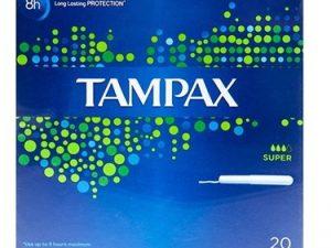تامپون بهداشتی تامپکس tampax