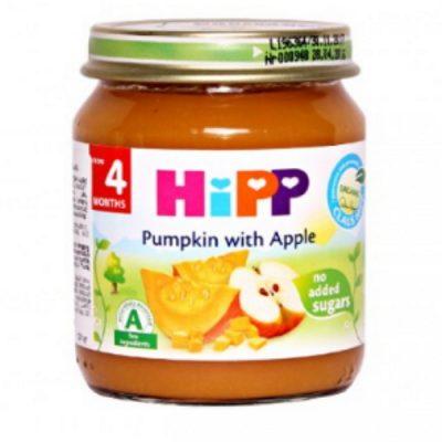 غذای کودک(پوره سیب و کدو) هیپ HiPP