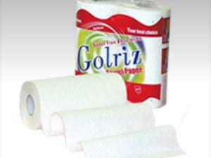 دستمال حوله دوقلوی گلریز Golriz