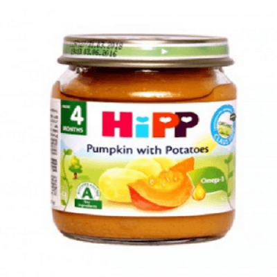 غذای کودک(سوپ کدوتنبل و سیب زمینی) هیپ HiPP
