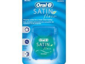 نخ دندان ساتن نعنایی اورال-بی Oral-B