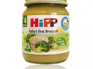 غذای کودک(پوره برنج و بروکلی) هیپ HiPP