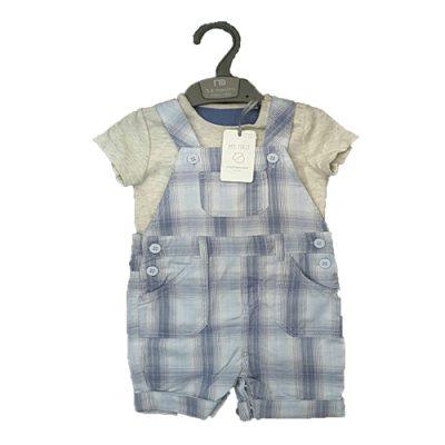 ست تی شرت و شلوار پیش بند دار نوزاد و کودک 3 تا 6 ماه مادرکر mothercare