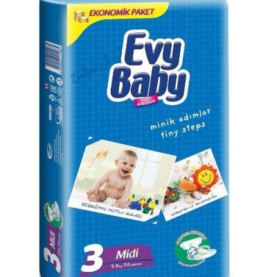 پوشک اوی بیبی سایز 3 evy baby