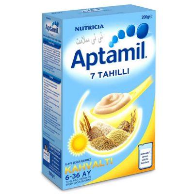 سرلاک هفت غله بدون شیر آپتامیل Aptamil