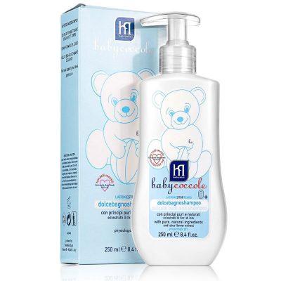 شامپوی بچه سر و بدن بی بی کوکول babycoccole-bath & shampoo