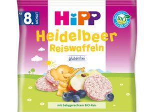 ویفر کودک سیب بلوبری هیپ hipp