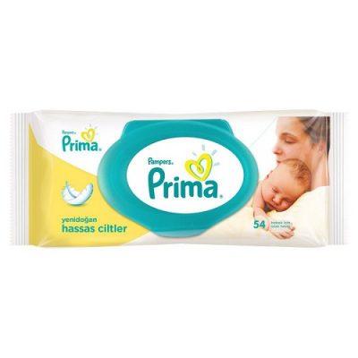 دستمال مرطوب درب دار نوزاد و بچه پریما پمپرز Pampers Prima ضد حساسیت sensitiv