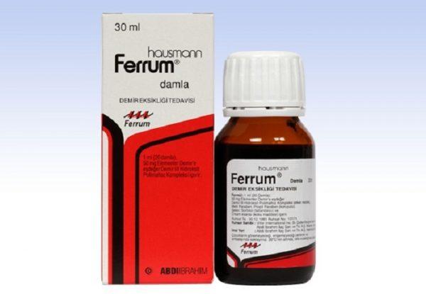 قطره آهن فروم Ferrum