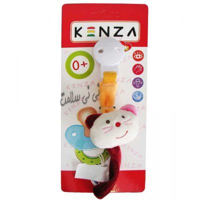 کلیپس(گیره) پستانک پولیشی کنزا kenza