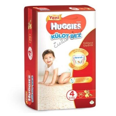 پوشک شورتی کودک هاگیز سایز 4 huggies