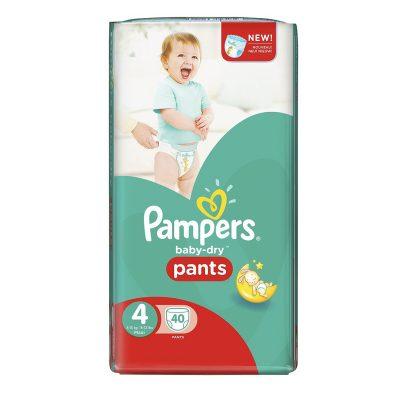 پوشک شورتی کودک پمپرز pampers سایز4