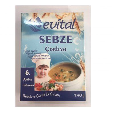 سوپ سبزیجات evital