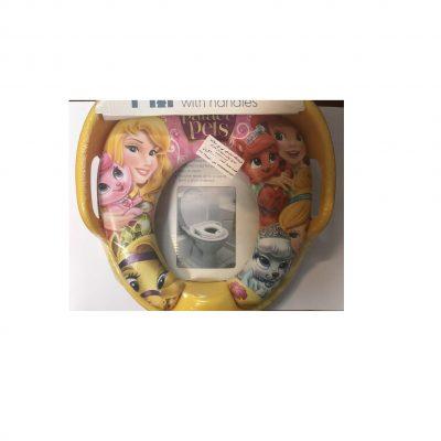تبدیل توالت فرنگی با طرح باربی مادرکر