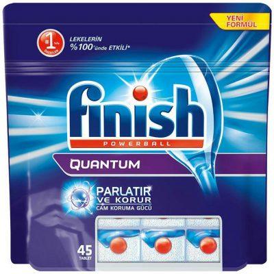 قرص ماشین ظرفشویی کوانتوم 45 تایی فینیش (Finish)