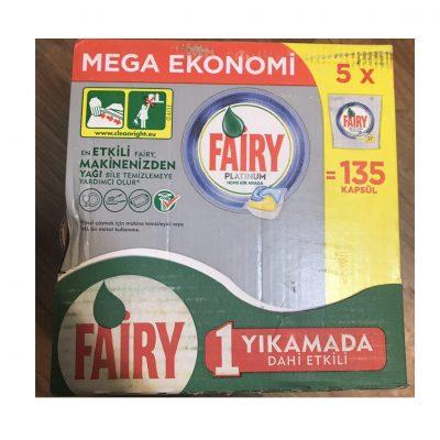 قرص ماشین ظرفشویی ۱۳۵ عددی فیری fairy