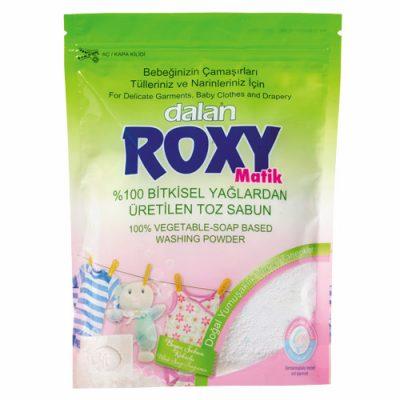 پودر صابون ماشین لباسشویی بچه رکسی Roxy (رایحه صابون سفید) 800گرم