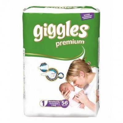 پوشک گیگلز (پرمیوم) سایز giggles۱