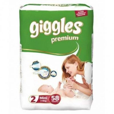 پوشک گیگلز (پرمیوم) سایز giggles۲