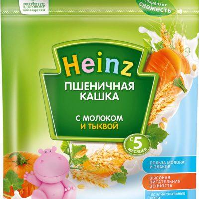 سرلاک شیر گندم کدو حلوایی هاینز Heinz
