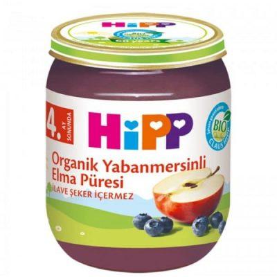 پوره ارگانیک سیب و بلوبری هیپ HIPP