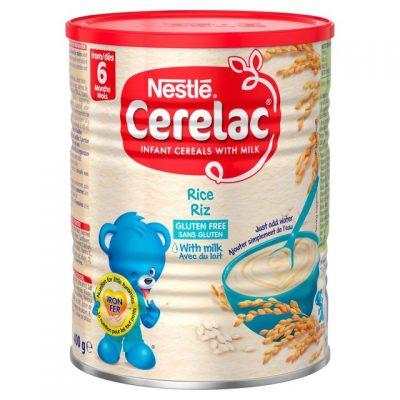 سرلاک برنج همراه شیر بدون گلوتن نستله nestle
