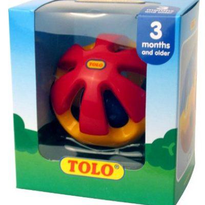 اسباب بازی جغجغه توپی تولو Tolo