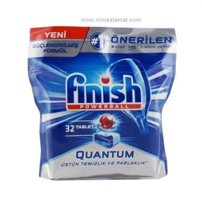 قرص ماشین ظرفشویی کوانتوم 32 عددی فینیش