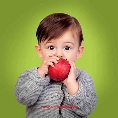 مزایای خوردن سیب برای کودکان