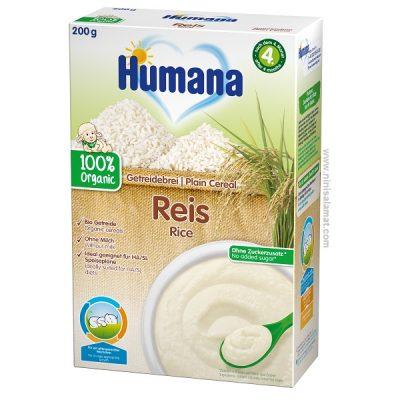 سرلاک برنج بدون شیر ارگانیک هومانا